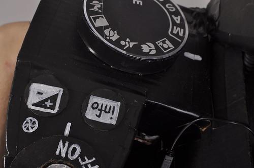 Fully Functional Nikon Camera Costume