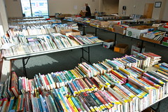 Book Sale Set Up