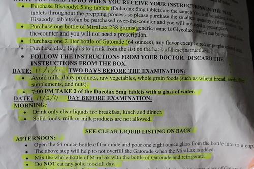 colonoscopy/egd instructions