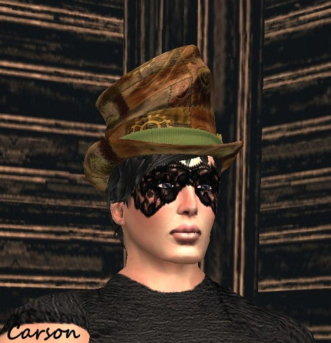 Scrunched Leather Top Hat, NaCrS - Masked Skin