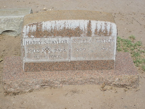 Picture from Evergreen Cemetery In El Paso
