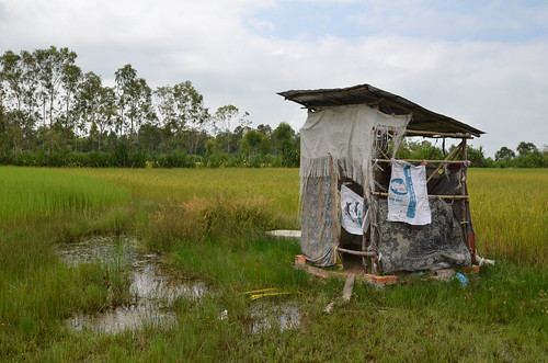 Rural Cambodian Toilets
