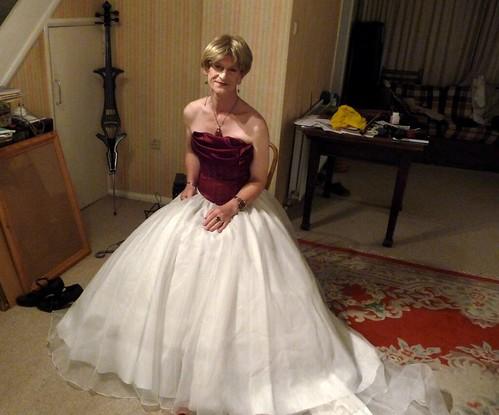 wedding tv dress cd tgirl