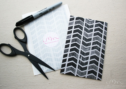 Notecards Chevron