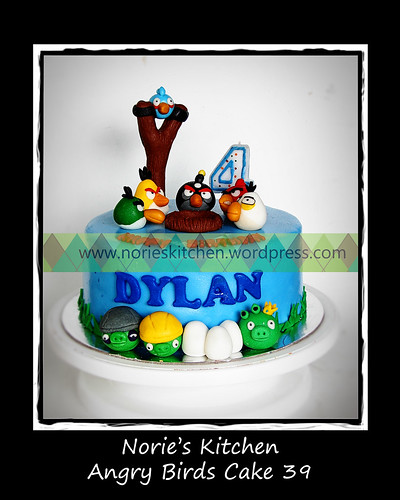 Norie's Kitchen - Angry Birds Cake 39 by Norie's Kitchen