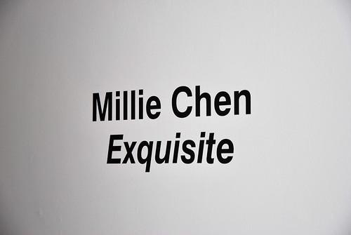 art exhibit by millie chen