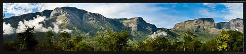Panorama of the Nilgiris from Masinagudi