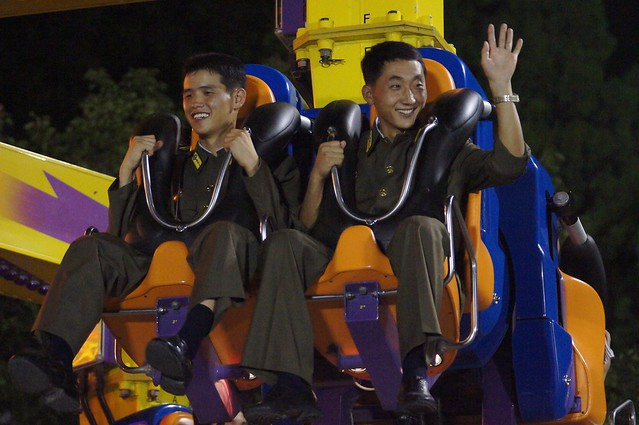 North Korean Pyongyang Fun Fair