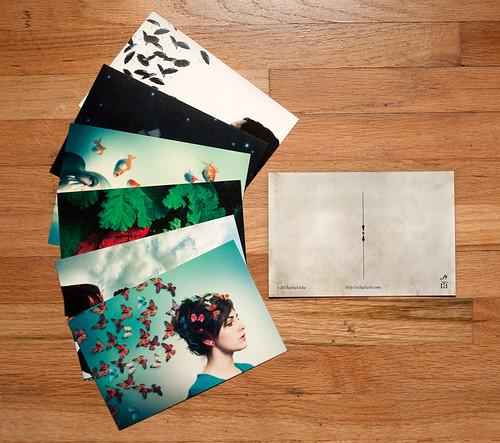 Imaginary Girl postcards