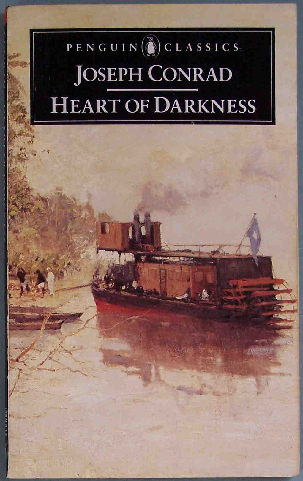 thoughts on heart of darkness through the fringe heart of darkness by joseph conrad is a short novel which seems to have permeated into the british consciousness i d never actually heard of the book