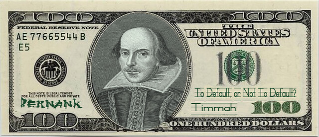 SHAKESPEARE NOTE (To Default, or not to Default...)