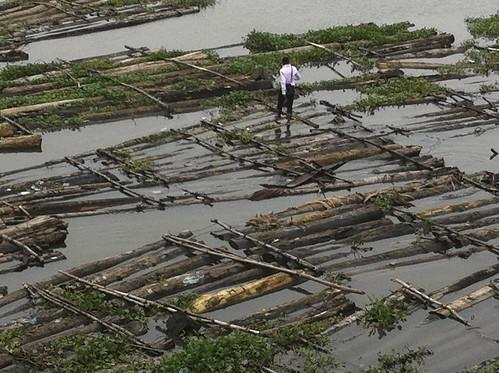 Lagos Lagoon View From The 3rd Mainland Bridge Lagos Nigeria by Jujufilms