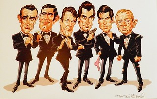 "Tom Richmond's ""Secret Agent Men"" print"