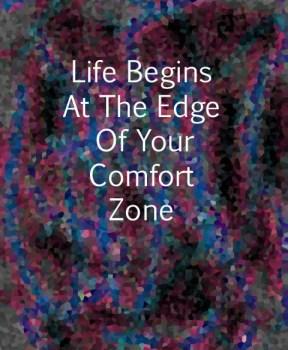 comfort zone sign
