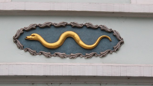 Enseigne Serpent, Prague