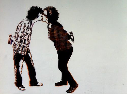 Um beijo