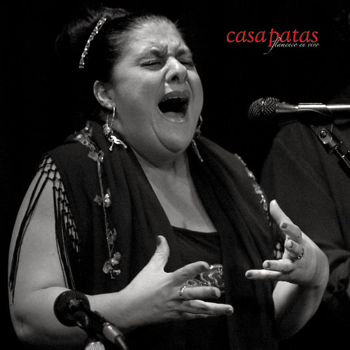 La cantaora Chelo Pantoja. Foto: Martín Guerrero