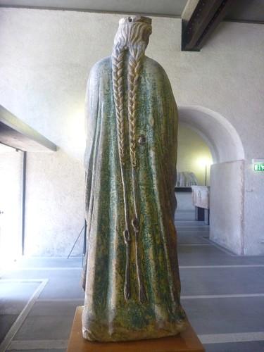 Castelvecchio Museum statue - More braids