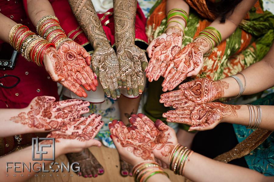 Henna Hands at Amir & Nasrine's Wedding Day 1 | Lilburn Mehndi Party | Atlanta Indian Wedding Photographer