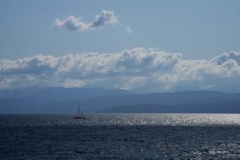Yacht on Lake Tahoe