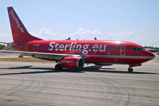 "Cimber CEO: ""This is a sad day for Danish aviation, for Cimber Sterling and for me personally"": Photo courtesy Flickr - carrib"