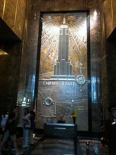 Lobby in the Empire State Building