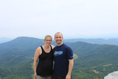 McAfee's Knob - Vicky and Ryan