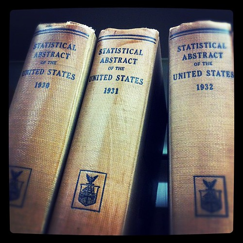 Mourning the Statistical Abstract (last volume was published this week). #govdocs #lostinthestacks #inmemoriam