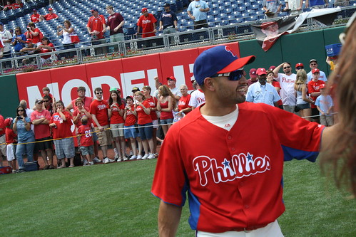 Center Fielder, Shane Victorino