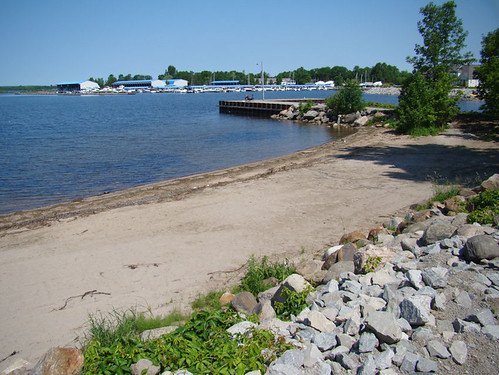new beach park in Victoria Harbour, Ontario by gnawledge wurker