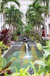 Gardens in front of Rockerfeller