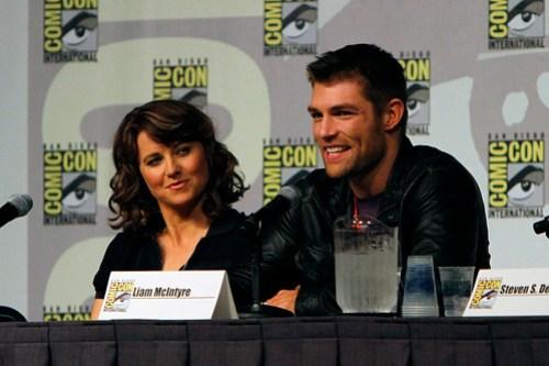 Spartacus: Vengeance Comic-Con Panel
