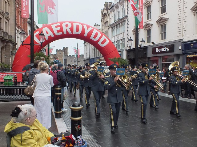 Armed Forces Day 2011 in Cardiff