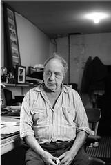 Robert Frank, New York, 2007, by Daniel Merle