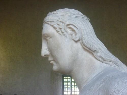 Castelvecchio Museum statue - profile