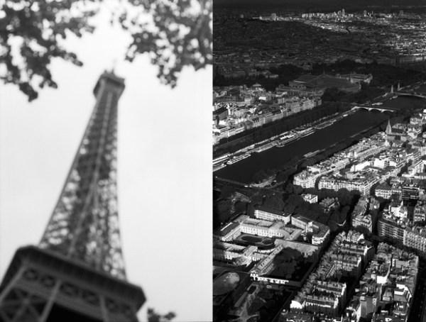 Красивые черно-белые фото Парижа - Power of art
