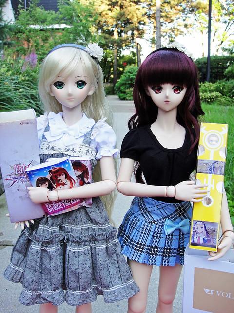 Saber Lily & Makoto went shopping!