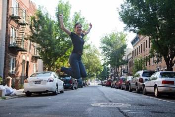Janine Saunders - jumpshot