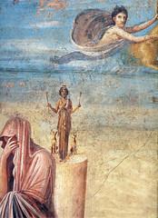 Pompeii fresco, details unknown