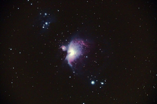 Nebulosa de Orion, 6 minutos :P