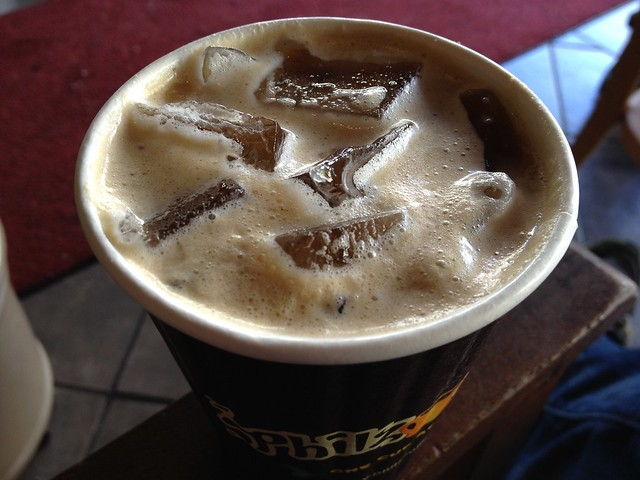 Iced coffee - Philz Coffee