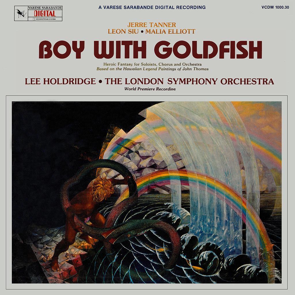 Lee Holdridge - Boy With Goldfish