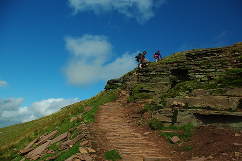 20110821-24_Final pull up onto Corn Du by gary.hadden