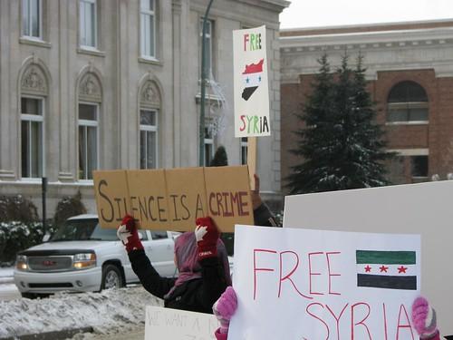 Free Syria and Occupy Regina