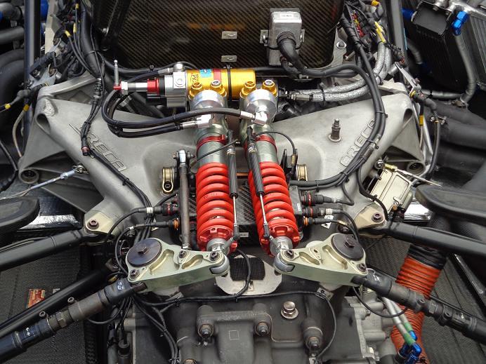 Oreca 03 Rear End Mechanics