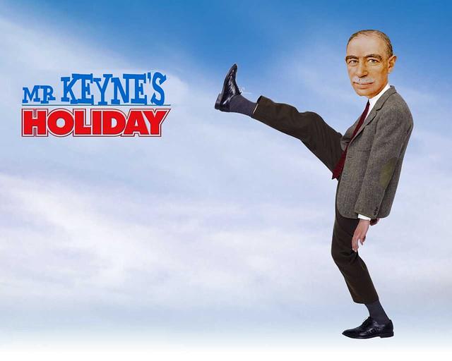 MR KEYNE'S HOLIDAY