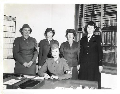 1950s - Department of Defense Recruiting Representatives