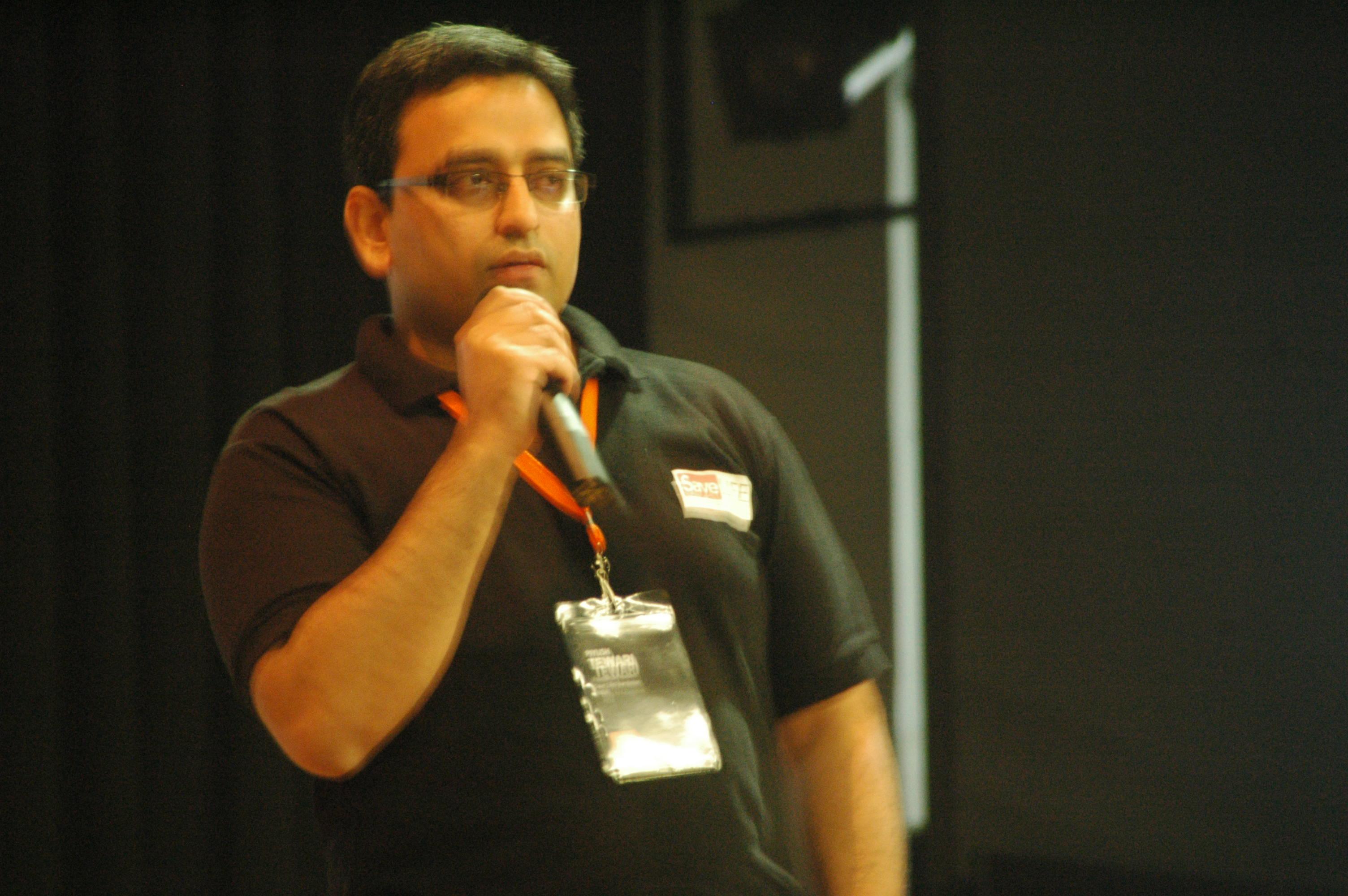 Piyush Tiwari, founder, Save Life foundation