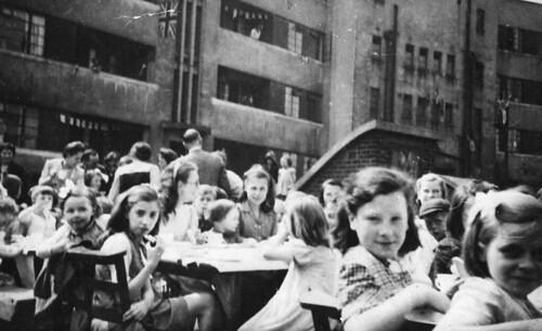 VJ Day celebrations, 1945