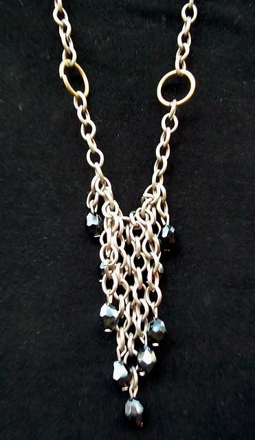 celtic ruin metal necklace